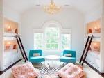 kinderslaapkamer vier bedden